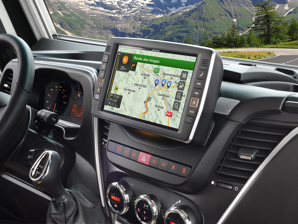 Iveco Daily Icin Tomtom Haritalari Yuklu Apple Carplay Ve Android