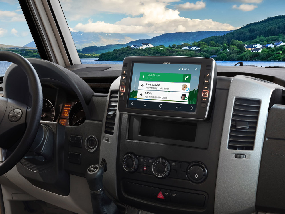 9 Touch Screen Navigation For Mercedes Sprinter Compatible With