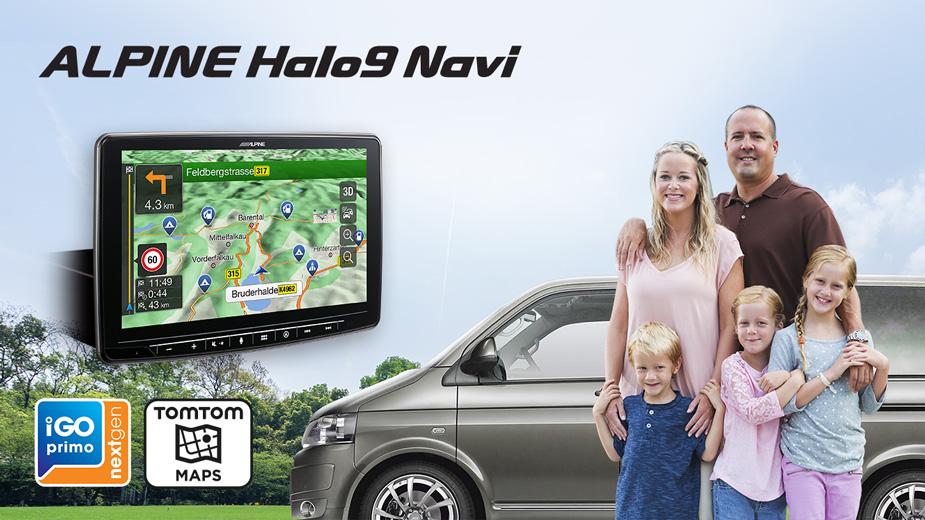 Alpine Halo9 Navi - INE-F904D