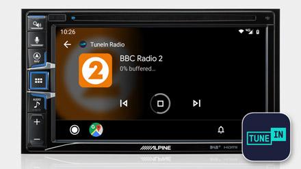 TuneIn Radyo - INE-W611D