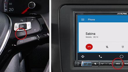 Voice Control - Digital Media Receiver iLX-702D