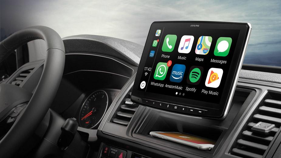 "Mazda Cx 5 Android Auto >> 1DIN Kasa – 9"" Ekran. Apple CarPlay ve Android Auto uyumlu Dijital Medya İstasyonu - Alpine ..."