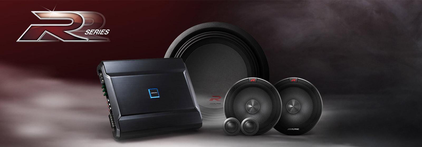 The Alpine R-Series Sound Components