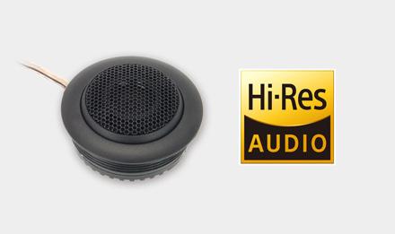 Hi-Res Audio Tweeters