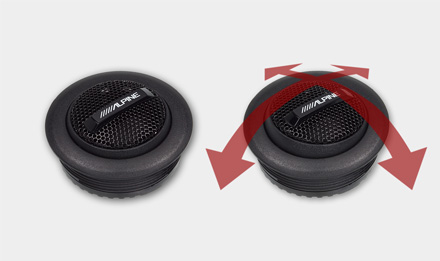 S-S10TW S-Serisi Tweeter Yüksek Ses Seviyesi için Yüksek Güçlü Kullanım
