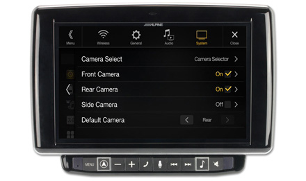 Camera-Select-Front-Rear-Side-KCX-C250MC