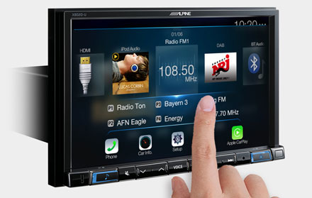 High Resolution WVGA Touch Screen  - X802D-U