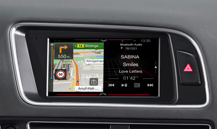 Golf 6 - Navigation - One Look Display  - X702D-Q5