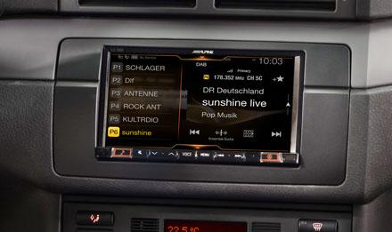 BMW 3 E46 - DAB Digital Radio - iLX-702E46