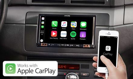 BMW 3 E46 - Works with Apple CarPlay - iLX-702E46