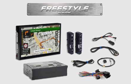 Tüm parçalar dahildir - Freestyle Navigasyon Sistemi X902D-F