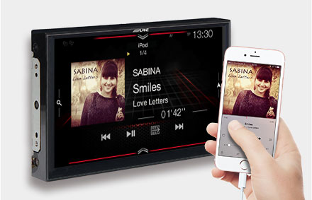 IPod'unuzu bağlayın iPhone - Navigasyon Sistemi X902D-F