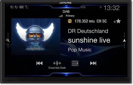 DAB + Dijital Radyo - Navigasyon Sistemi X902D-F