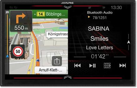 Serbest uçuş - Navigasyon - Tek Ekranlı Ekran - X902D-F