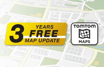 3 Yıl Ücretsiz Güncellemelerle TomTom Haritaları - X902D-F
