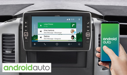 Mercedes Sprinter - Works with Android Auto - X903D-S906