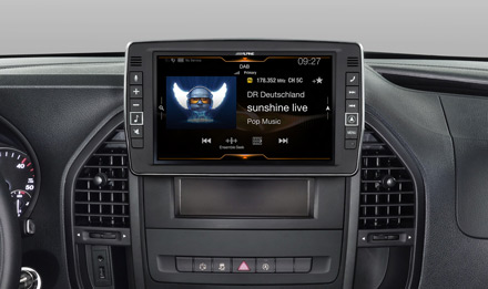 Mercedes Vito - DAB Digital Radio - X903D-V447