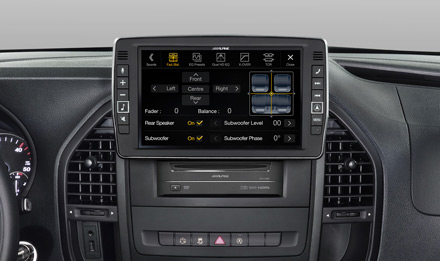 Mercedes Vito - Fader and Balance  - X903D-V447