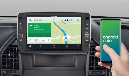 Online Navigation with Android Auto - X903D-V447