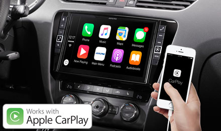 Skoda Octavia 3 - Works with Apple CarPlay - X902D-OC3