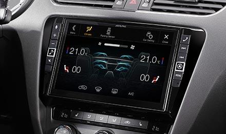 Skoda Octavia 3 - Klima Ekranı - X903D-OC3