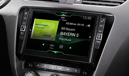 Skoda Octavia 3 - DAB Dijital Radyo - X903D-OC3