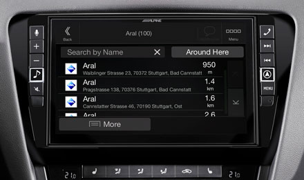 Skoda Octavia 3 - Navigasyon - İlgi Çekici Noktalar - X903D-OC3