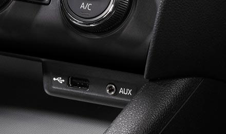 Skoda Octavia 3 - USB / AUX bağlantı noktası