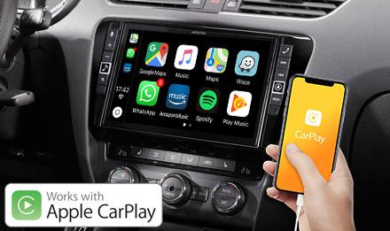 Skoda Octavia 3 - Apple CarPlay ile Çalışır - X903D-OC3