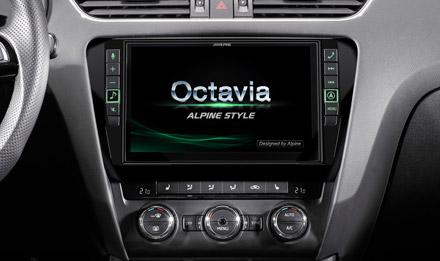 Skoda Octavia Başlangıç Ekranı - X903D-OC3