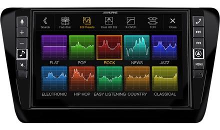 Skoda Octavia 3 - Ses Ön Ayarları - i902D-OC3