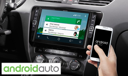 Skoda Octavia 3 - Works with Android Auto - i902D-OC3