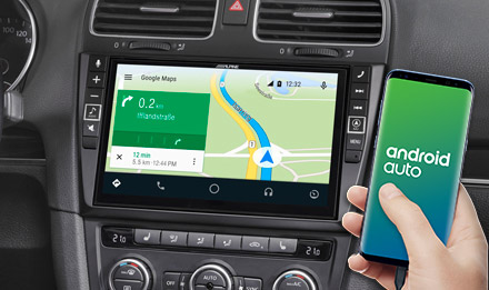Online Navigation with Android Auto - X903D-G6
